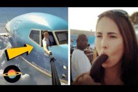 10 Największych wpadek podczas robienia selfie