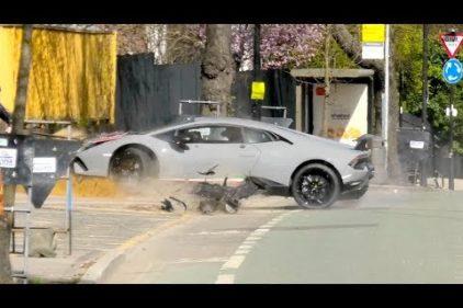 Rozbił Lamborghini warte ponad milion zł. Wpadka tygodnia.