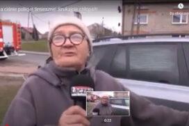 Babcia ciśnie ostro po Policji. Hit internetu.