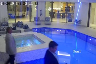 Koleś nie zauważył dużego basenu. Jak do tego doszło.