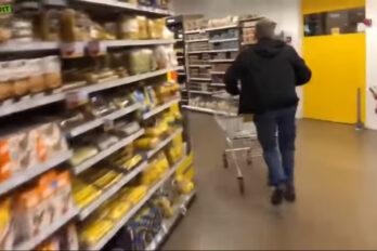 Kretyn roku, mógł robić nieograniczone zakupy przez minutę…