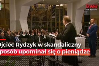 Ojciec Tadeusz Rydzyk szydzi z działań Rządu. Szok i niedowierzanie !!